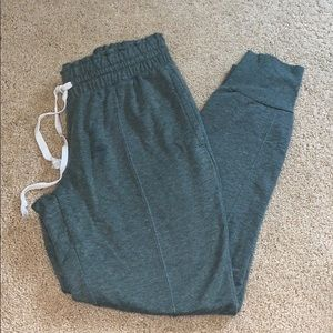 Olive green/grey joggers - comfy and soft
